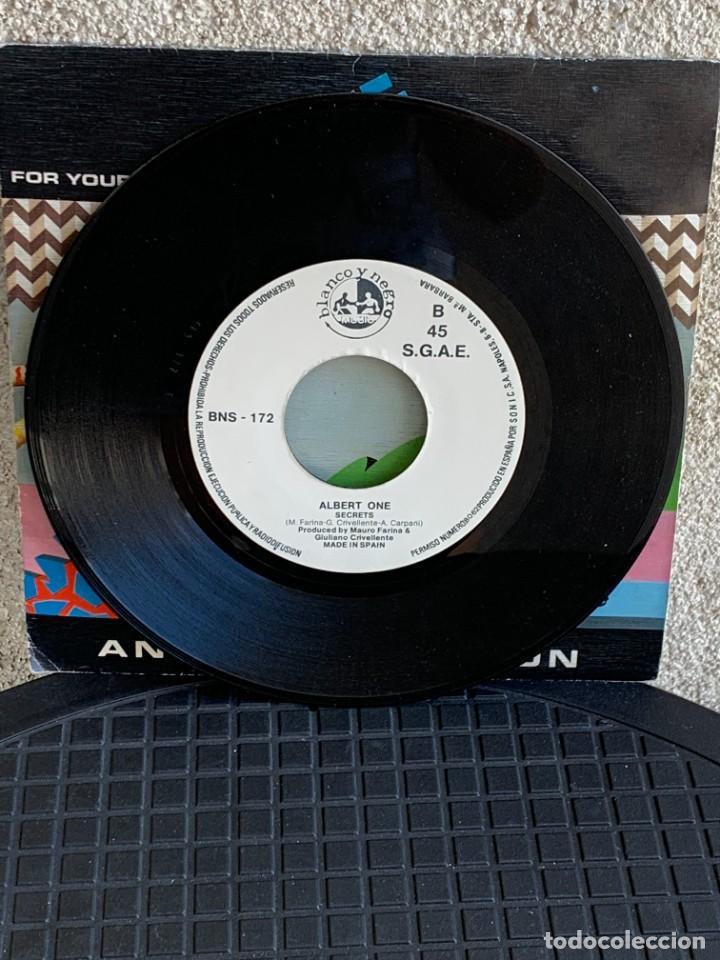 Discos de vinilo: DISCO EP ALBERT ONE FOR YOUR LOVE ANOTHER VERSION 18X18CMS - Foto 9 - 275538758