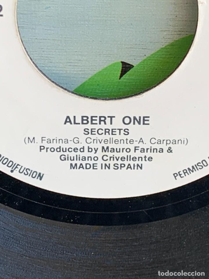 Discos de vinilo: DISCO EP ALBERT ONE FOR YOUR LOVE ANOTHER VERSION 18X18CMS - Foto 10 - 275538758