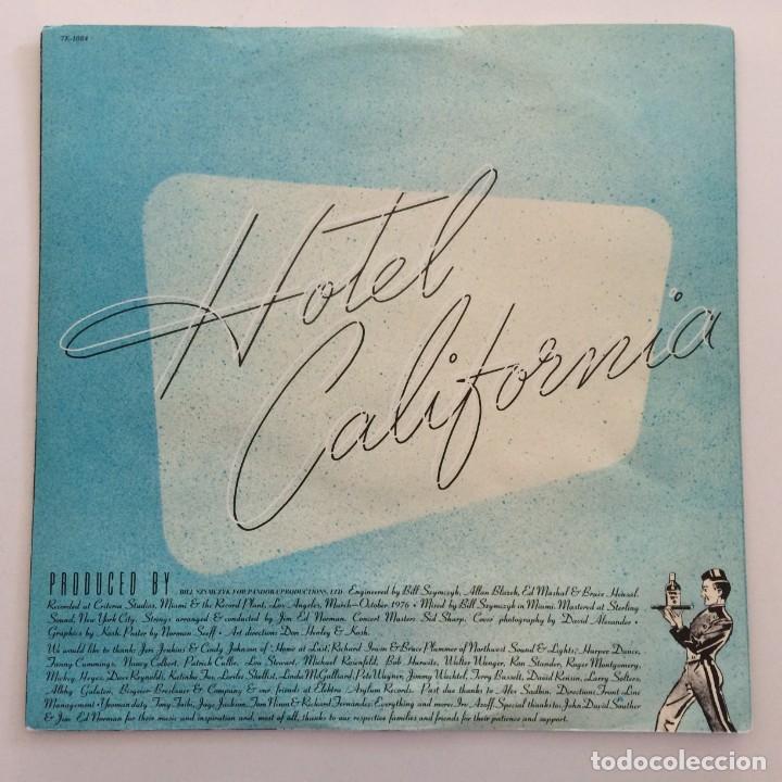 Discos de vinilo: Eagles – Hotel California USA,1976 Asylum Records - Foto 5 - 275555088