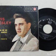 Discos de vinilo: EP ELVIS PRESLEY, LA NOVIA DE MI MEJOR AMIGO, THE GIRL NEXT DOOR, SUSPICION + 1. Lote 275563368