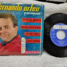 Discos de vinilo: FERNANDO ORTEU Y SU CONJUNTO/ EP BALADA DEL AMANECER 1963. Lote 275583413