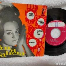 Discos de vinilo: FINA GALICIA EP POBRE APOLO 1963. Lote 275584983