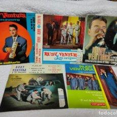 Discos de vinilo: RUDY VENTURA 5 EPS AÑOS 60. Lote 275587718