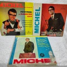 Discos de vinilo: MICHEL 3 EPS PRIMERA ÉPOCA. Lote 275589453
