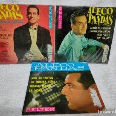 Discos de vinilo: ALECO PANDAS 4 EPS EDICIÓN ESPAÑOLA. Lote 275591178