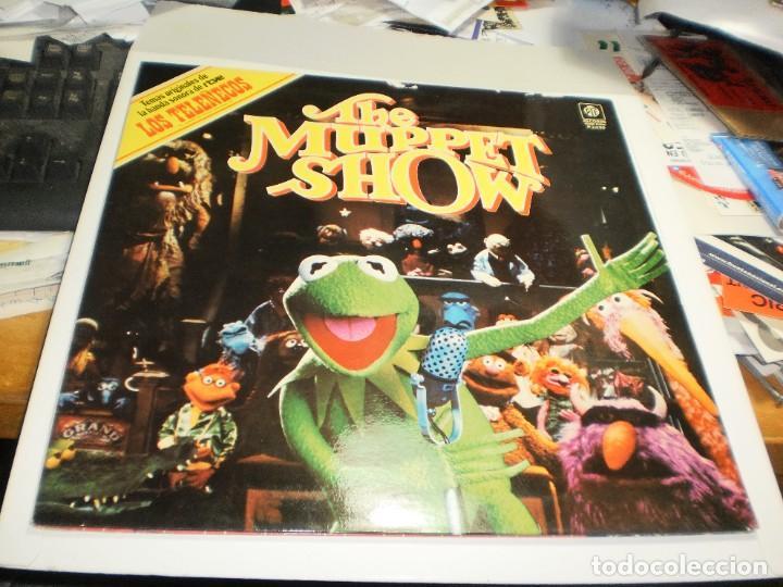 LP THE MUPPET SHOW (LOS TELEÑECOS) PYE RECORDS 1977 SPAIN CARPETA DOBLE (PROBADO, BIEN, SEMINUEVO) (Música - Discos - LPs Vinilo - Música Infantil)