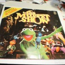 Discos de vinilo: LP THE MUPPET SHOW (LOS TELEÑECOS) PYE RECORDS 1977 SPAIN CARPETA DOBLE (PROBADO, BIEN, SEMINUEVO). Lote 275639043