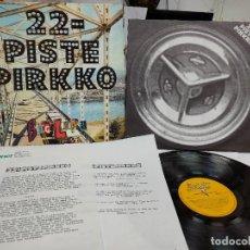 Discos de vinilo: 22 PISTE PIRKKO/ BIG LUPU 1992 HOJAS PROMO OFICIALES- NUEVO A ESTRENAR. Lote 275659223