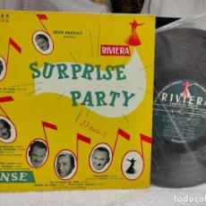 """Discos de vinilo: RIVIERA SURPRISE PARTY/ DANSE- FRANCÉS 10"""". Lote 275670178"""