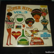 Discos de vinilo: SUPER HITS VOL.3 LP VARIOS (ARETHA.-BUFFALO SPRINGFIELD.- OTIS REEDING ETC. ). Lote 275683093