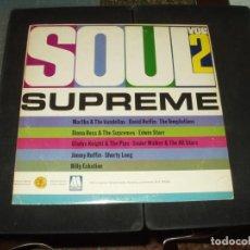 Discos de vinilo: SOUL SUPREME VOL2 ( MARTA & VANDELLAS, RUFFIN, BILLY ECKSTINE, GLADYS KNIGHT ETC..). Lote 275684878