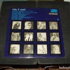 Discos de vinilo: HITS & SOUL LP 3 (CAPITOLS,SOLOMON BURKE,SAM & DAVE,WILSON PICKETT).. Lote 275685913