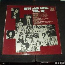 Discos de vinilo: HITS & SOUL LP 10 (ROBERTA FLACK, MAJOR HARRIS, SPINNERS, HERBIE MANN ETC.. ). Lote 275686678