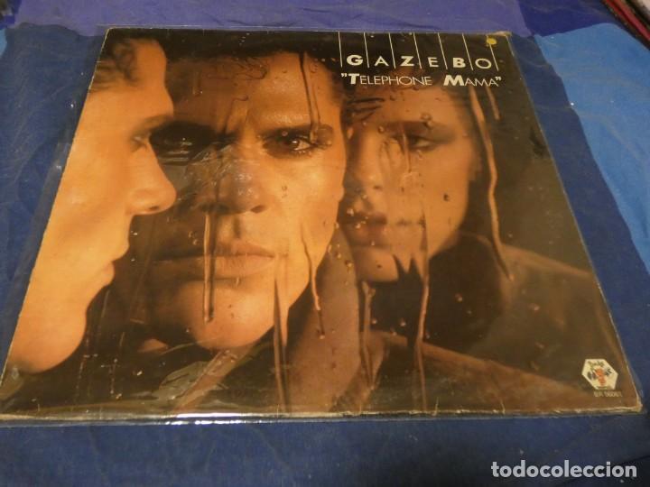 MUSICA ELECTRONICA LP GAZEBO TELEPHONE MAMA SONIDO SABADELL 1984 VINILO OK (Música - Discos - LP Vinilo - Techno, Trance y House)