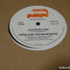 Disques de vinyle: MUSICA ELECTRONICA MAXI DREAM SEQUENCE OUTSIDE LOOLING IN 1982 RED BUS RECORDS VINILO BUEN ESTADO. Lote 275690033