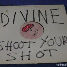 Disques de vinyle: MUSICA ELECTRONICA MAXI SINGLE DIVINE SHOOT YOUR SHOOT PARECE REEDICION BUEN ESTADO PINK FLAMINGOS. Lote 275690443