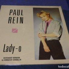 Disques de vinyle: MUSICA ELECTRONICA MAXI SINGLE ITALO PAUL REIN 1986 ESTADO CORRECTO VINILO. Lote 275691143