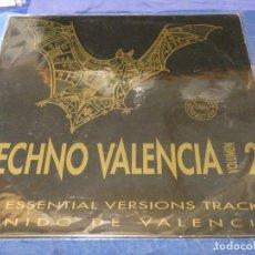 Disques de vinyle: MUSICA ELECTRONICA TECHNO VALENCIA VOL 2 CONTRASEÑA RECORDS VINILO BUEN ESTADO. Lote 275695543