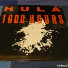 Discos de vinil: MUSICA ELECTRONICA DOBLE LP HULA 1000 HOURS UK 1986 BUEN ESTADO. Lote 275700203