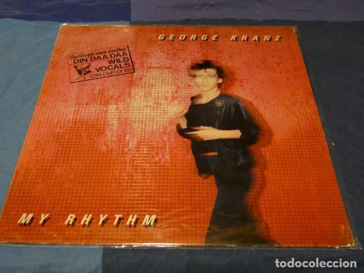 MUSICA ELECTRONICA LP GEORGE KRANZ MY RYTHM DISCOS VICTORIA 1985 MUY BUEN ESTADO (Música - Discos - LP Vinilo - Techno, Trance y House)