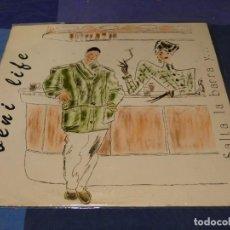 Discos de vinil: MUSICA ELECTRONICA MAXI SINGLE BENI LIFE SATLA LA BARRA Y... BUEN ESTADO 1987. Lote 275704073