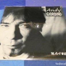 Discos de vinilo: MUSICA ELECTRONICA LP ANDY GIORBINO THE ART OF LETTING GO BUEN ESTADO ALEMANIA 89. Lote 275709848