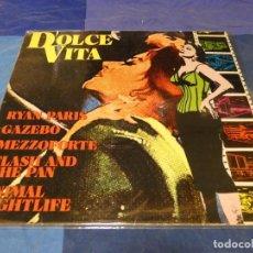 Discos de vinilo: MUSICA ELECTRONICA LP RECOP CIRCA 1982 LA DOLCE VITA BUEN ESTADO RYAN PARIS. Lote 275710878