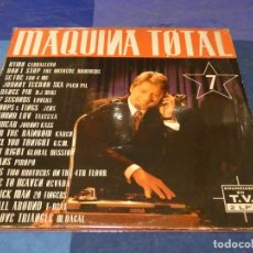 Discos de vinil: MUSICA ELECTRONICA DOBLE LP MAQUINA TOTAL 7 VINILOS BUEN ESTADO. Lote 275711403