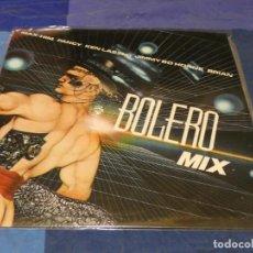 Discos de vinilo: MUSICA ELECTRONICA LP BOLERO MIX 1986 MIKO MISSION BUEN ESTADO. Lote 275711593