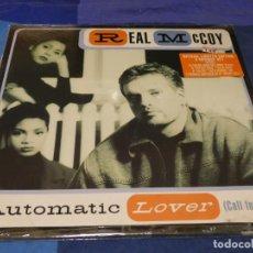 Discos de vinil: MUSICA ELECTRONICA DOBLE MAXI SINGLE REAL MCCOY AUTOMATIC LOVER SELLADO DE FABRICA. Lote 275711918