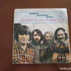 Disques de vinyle: CREEDENCE CLEARWATER REVIVAL RUN THROUGH THE JUNGLE. Lote 275712538