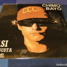 Disques de vinyle: MUSICA ELECTRONICA MAXI CHIMO BAYO ASI ME GUSTA A MI CIERTO USO, CEPTABLE. Lote 275713598