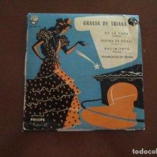 Discos de vinilo: GRACIA DE TRIANA DE LA CAVA. Lote 275715308