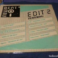 Discos de vinil: MUSICA ELECTRONICA LP NEW EDIT 2 ALEMANIA 1989 ZYX ESTADO CORRECTO. Lote 275716068