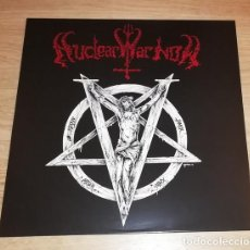 Discos de vinilo: DEMONCY - JOINED IN DARKNESS - PICTURE LP [NUCLEAR WAR NOW!, 2016 · LIM. 100] BLACK METAL. Lote 275717698