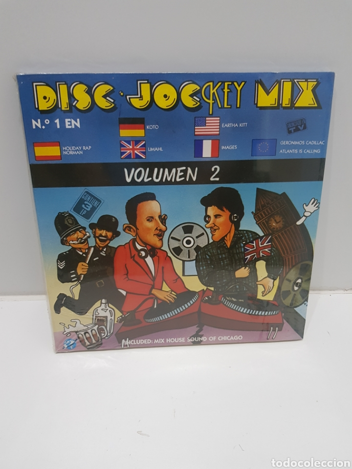 LP DISC JOCKEY MIX VOLUMEN 2 NUEVO (Música - Discos - LP Vinilo - Disco y Dance)