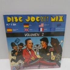 Discos de vinilo: LP DISC JOCKEY MIX VOLUMEN 2 NUEVO. Lote 275721963