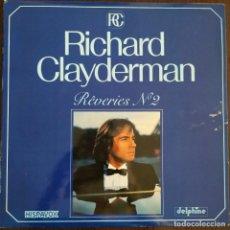 Discos de vinilo: RICHARD CLAYDERMAN 'REVERIES Nº 2' LP VINILO ÁLBUM 1982. Lote 275723678