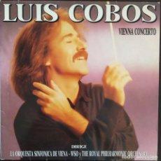 Discos de vinilo: LUIS COBOS 'VIENNA CONCERTO' LP VINILO ÁLBUM 1988. Lote 275724528