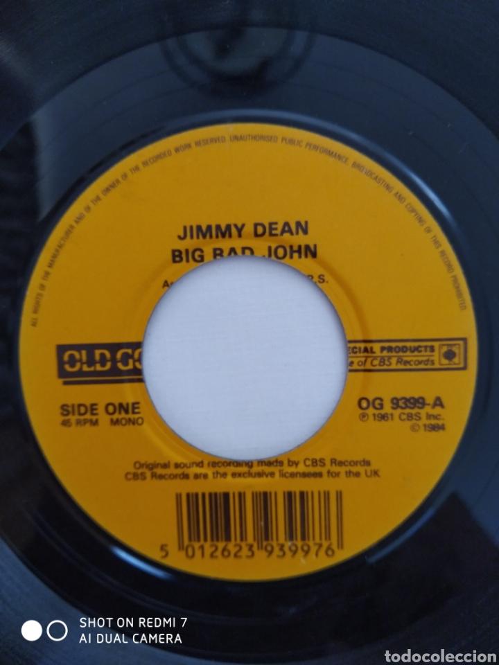 Discos de vinilo: Jimmy Dean,Big bad John,single OG 9399 - Foto 2 - 275727858