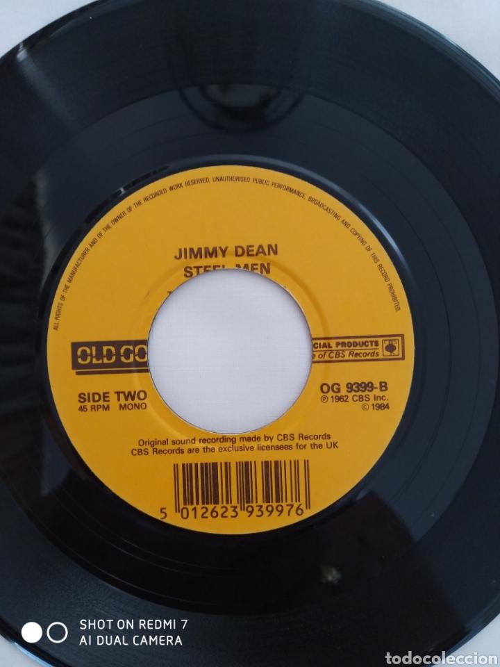 Discos de vinilo: Jimmy Dean,Big bad John,single OG 9399 - Foto 3 - 275727858