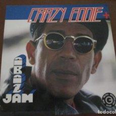 Discos de vinilo: CRAZY EDDIE ABAD JAM. Lote 275737453