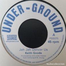 "Discos de vinilo: KEITH GOODE - JAH JAH DELIVER US - 7"" [UNDER-GROUND / PRESSURE SOUNDS, 2013] ROOTS REGGAE DUB. Lote 275738843"