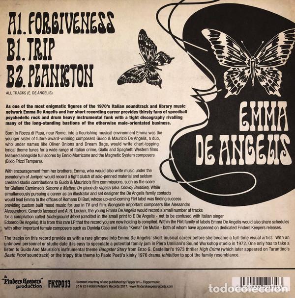 "Discos de vinilo: Emma De Angelis - Forgiveness - 7"" [Finders Keepers Records, 2017] Funk Rock - Foto 2 - 275739268"
