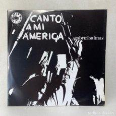 Discos de vinilo: LP - VINILO GABRIEL SALINAS - CANTO A MI AMÉRICA - ESPAÑA - AÑO 1969. Lote 275749473