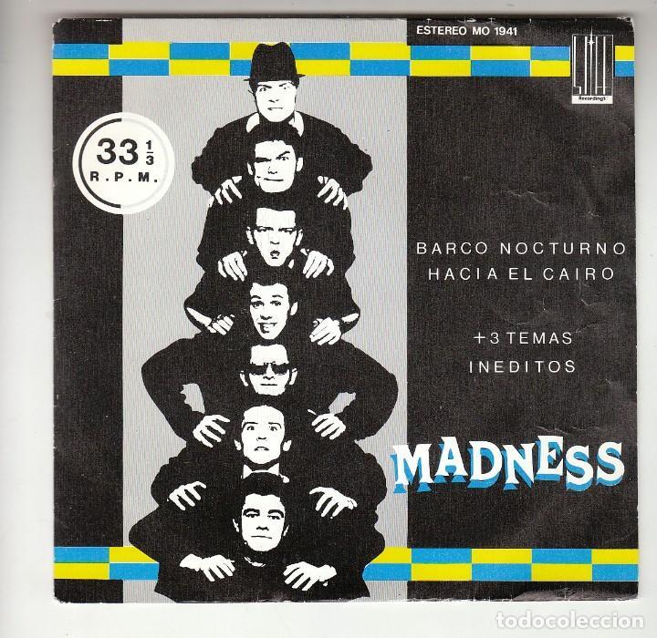 MADNESS: EP REGGAE- SKA- PROMO SPAIN 7 P/S NO VENDIBLE- EX/EX- OPORTUNIDAD (Música - Discos de Vinilo - EPs - Reggae - Ska)