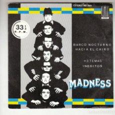Discos de vinilo: MADNESS: EP REGGAE- SKA- PROMO SPAIN 7 P/S NO VENDIBLE- EX/EX- OPORTUNIDAD. Lote 275751728