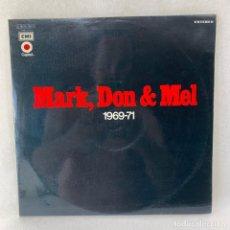 Discos de vinilo: LP - VINILO GRAND FUNK RAILROAD - MARK, DON & MEL 1969-71 - DOBLE PORTADA - ESPAÑA - AÑO 1969. Lote 275752768