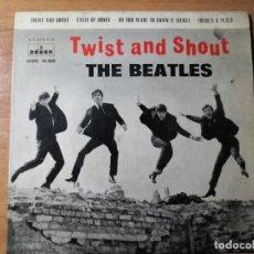 Discos de vinilo: THE BEATLES EP TWIST AND SHOUT 1963. Lote 275779103