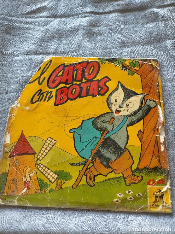 VINILO SINGLE EL GATO CON BOTAS (Música - Discos - Singles Vinilo - Música Infantil)